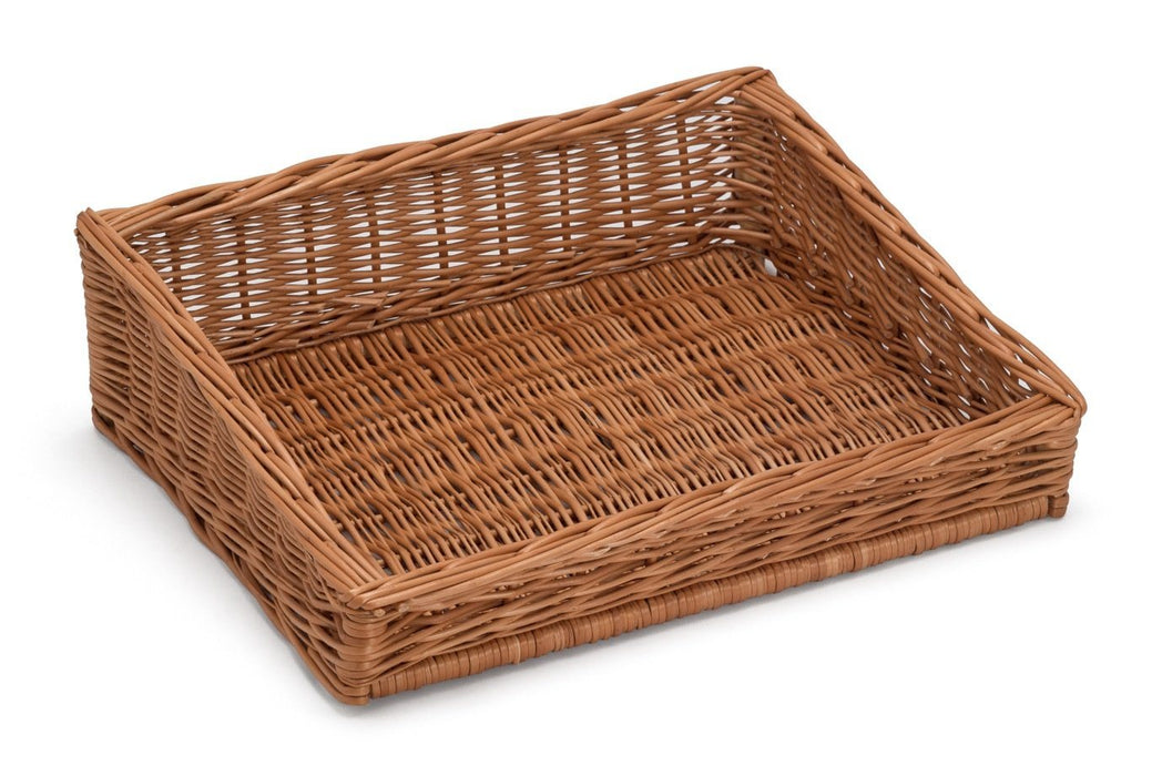Sloping Wicker Display Basket 50x40cm Display & Catering Prestige Wicker