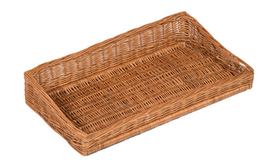 Sloping Wicker Display Basket 60x32cm Display Baskets Prestige Wicker