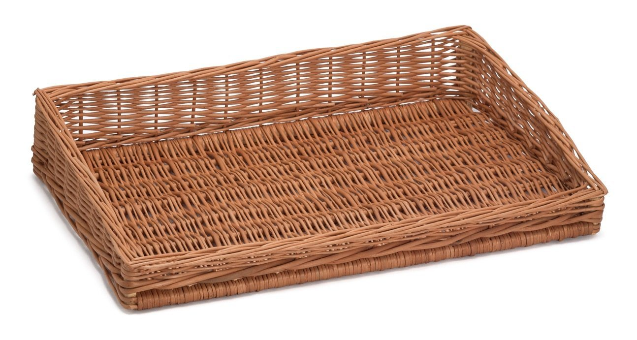Sloping Wicker Display Basket 60x39cm Display & Catering Prestige Wicker