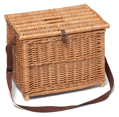 Traditional Wicker Fishing Basket Home & Garden Prestige Wicker