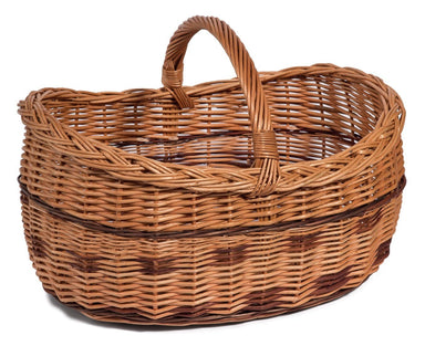 Wicker Basket Barrel Extra Large Home & Garden Prestige Wicker