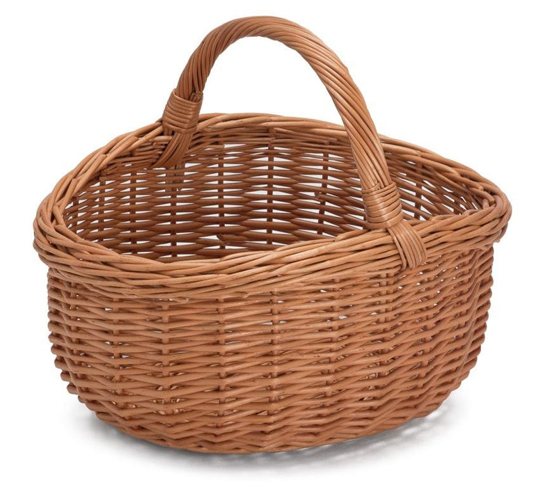 Wicker Basket with Handle Grand Home & Garden Prestige Wicker