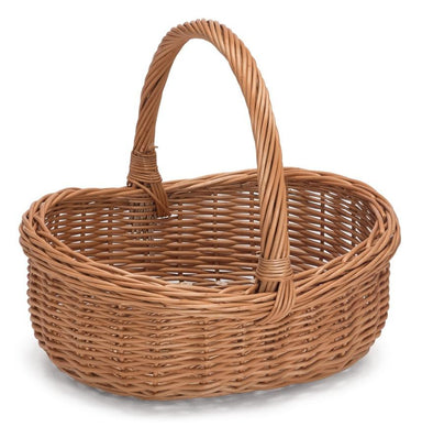 Wicker Basket with Handle Home & Garden Prestige Wicker