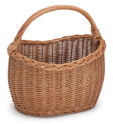 Wicker Basket with Handle Walker Home & Garden Prestige Wicker