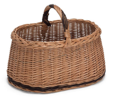 Wicker Basket with Handle Westie Home & Garden Prestige Wicker