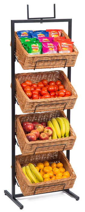 Wicker Baskets Display Floor Stand Display & Catering Prestige Wicker