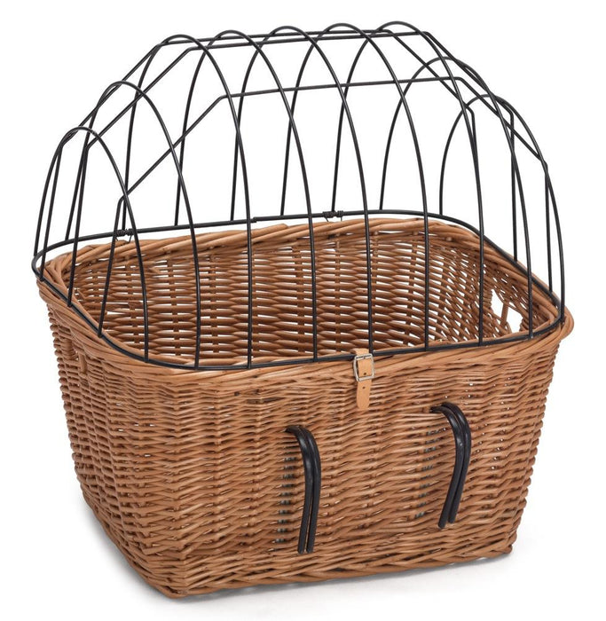 Wicker Bicycle Pet Carrier Pets Prestige Wicker