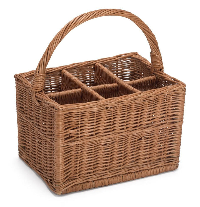 Wicker Bottle Carrier Home & Garden Prestige Wicker