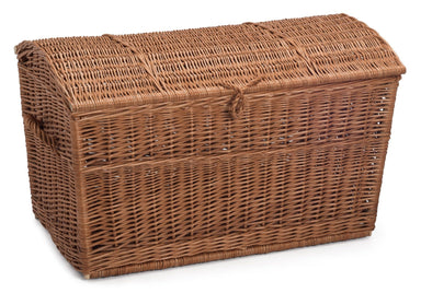 Wicker Chest Storage Basket Home & Garden Prestige Wicker