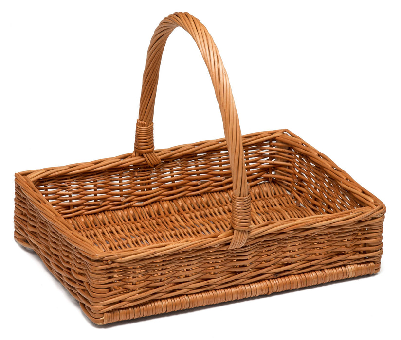 Wicker Display Basket with Handle 32cm Display & Catering Prestige Wicker