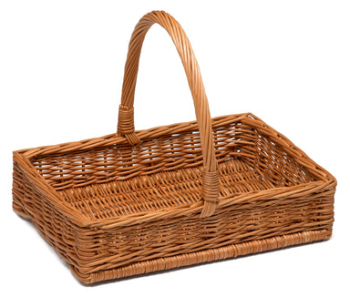 Wicker Display Basket with Handle 44cm Display & Catering Prestige Wicker