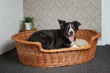 Wicker Pet Basket Pets Prestige Wicker