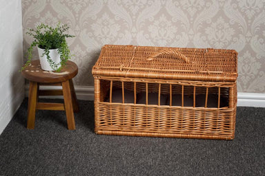 Wicker Pet Carrier Basket Pets Prestige Wicker