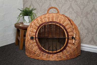 Wicker Pet Carrier Igloo Pets Prestige Wicker