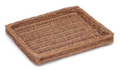 Wicker Shallow Display Tray Display & Catering Prestige Wicker