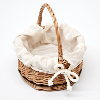 Wicker Small Gift Basket Home & Garden Prestige Wicker