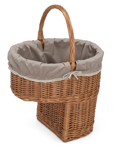 Wicker Stair Storage Basket Home & Garden Prestige Wicker