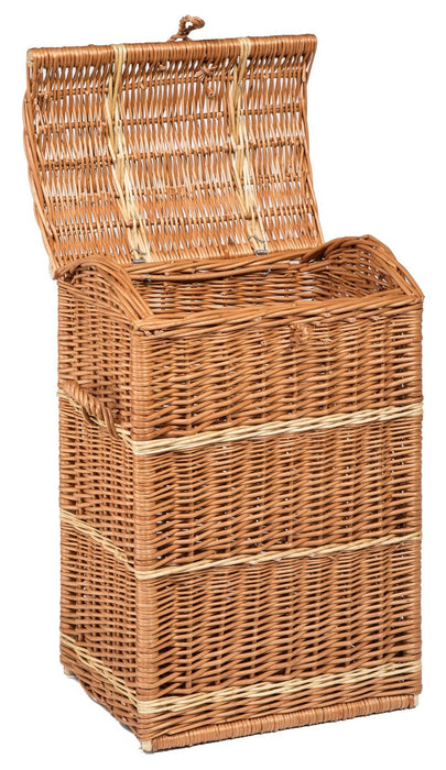 Wicker Tall Storage Trunk Home & Garden Prestige Wicker
