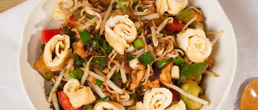 A full meal by itself – Mie Goreng!