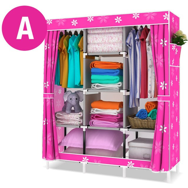 Non Woven Folding Cloth Wardrobe