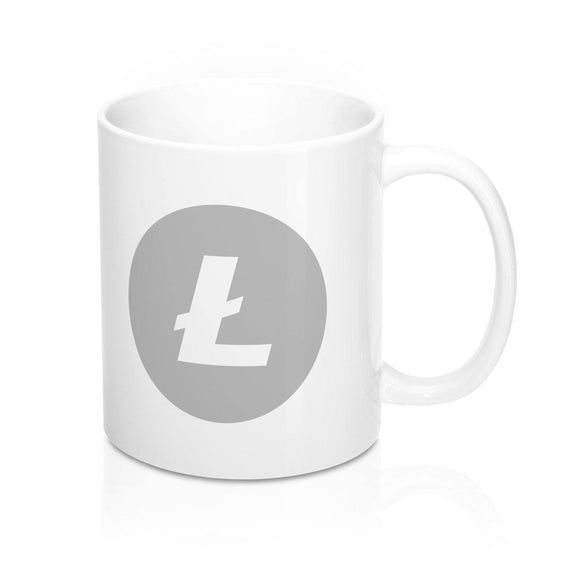 Litecoin Blockchain stuff crypto merchandise coffee mug mok