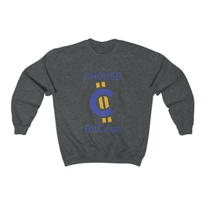 Sweater - Choose BitCash - Crypto merchandise gift idea