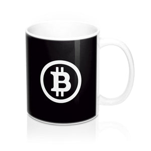 Mug - Bitcoin black - Crypto merchandise gift idea