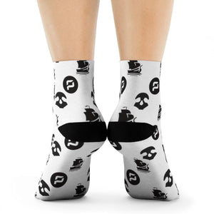 Socks - Pirate Chain - Crypto merchandise gift idea