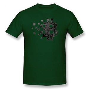 T-shirt - BTC Circuit board - Crypto merchandise gift idea