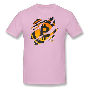 T-shirt - Bitcoin ripped - Crypto merchandise gift idea