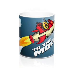 Mug - Bitcoin moonshot - Crypto merchandise gift idea