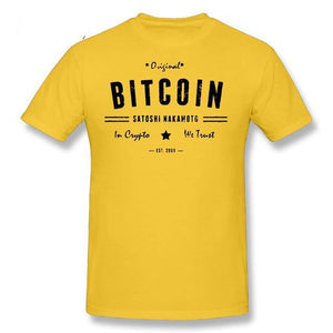 T-shirt - Bitcoin original - Crypto merchandise gift idea