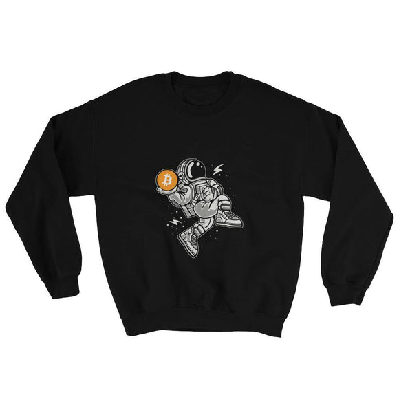 Sweater - Bitcoin in Space - Blockchain Stuff Crypto merchandise bitcoin merch tees