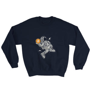 Sweater - Bitcoin in Space - Crypto merchandise gift idea