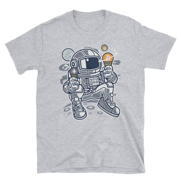 T-shirt - Crypto Space Ice - Blockchain Stuff Crypto merchandise bitcoin merch tees