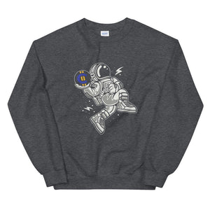Sweatshirt - BitCash Slamdunk - Crypto merchandise gift idea