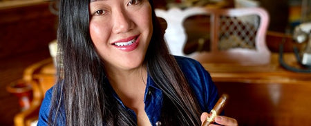 Tobacco Business Magazine featuring Angela Yue of Lord Puffer Tobacconist