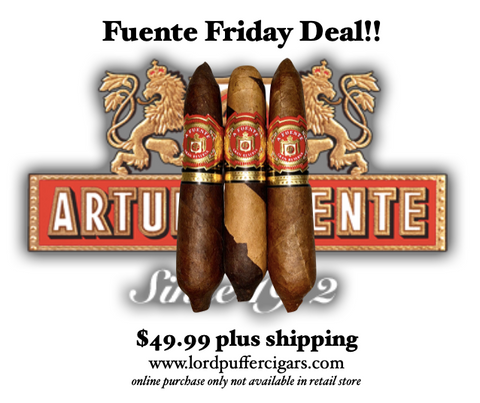 Fuente Friday Lord Puffer Cigars Fuente Friday Escondido