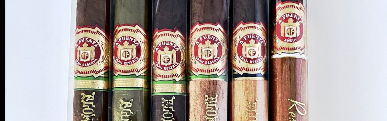Fuente Friday Deal - 858 Sampler (5 Pack) + Anejo 888 Bonus cigar