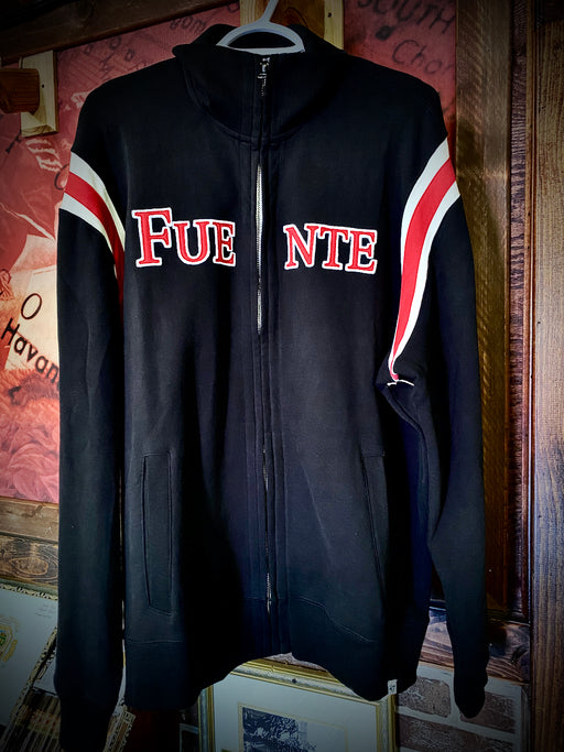Fuente Track Jacket Black and Red