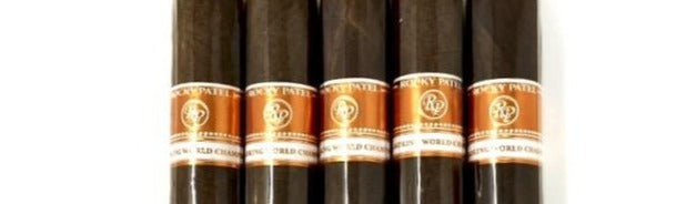 Rocky Patel Cigar Smoking World Championship Toro 5 Pack Sampler