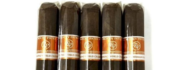 Rocky Patel Cigar Smoking World Championship Robusto 5 Pack Sampler