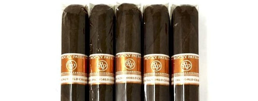 Rocky Patel Cigar Smoking World Championship Corona 5 Pack Sampler