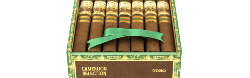 NEW WORLD CAMEROON DOUBLE ROBUSTO