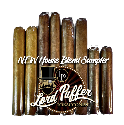NEW! Lord Puffer House Blend 8 Cigar Sampler