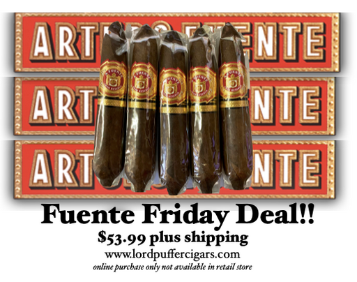 Fuente Friday Work of Art Maduro 5 Pack