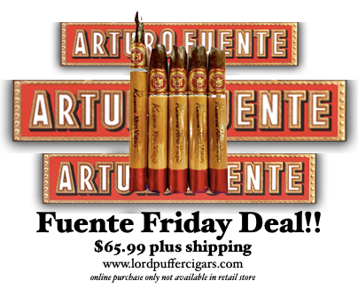 Fuente Friday February 19, 2021 Añejo 5 Pack