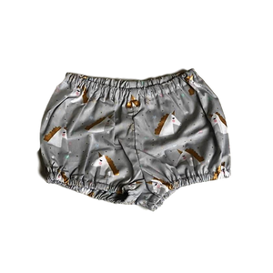 HANDMADE RANGE; grey Unicorn shorts