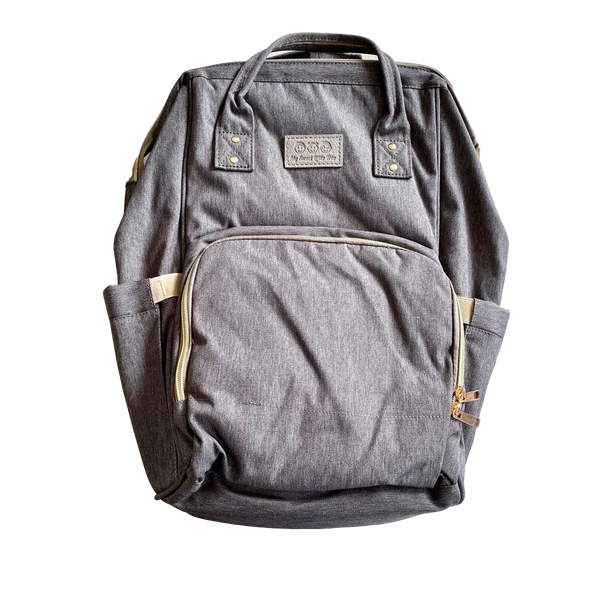 Backpack Nappy Bag- Grey