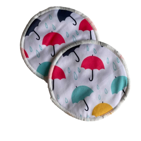 Washable Breast Pads- Umbrella